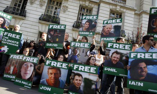 Aussie Activist in Russian Jail Appeals Detention
