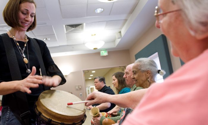 Seniors are taking better care of themselves, are aware of their health, and are living longer. Another important factor has been a better understanding of treatments for hearing health, better communication on the issue, and improved support through information portals. (Saul Loeb/AFP/Getty Images)