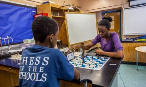 NY Youth Compete in Chess on Columbus Day