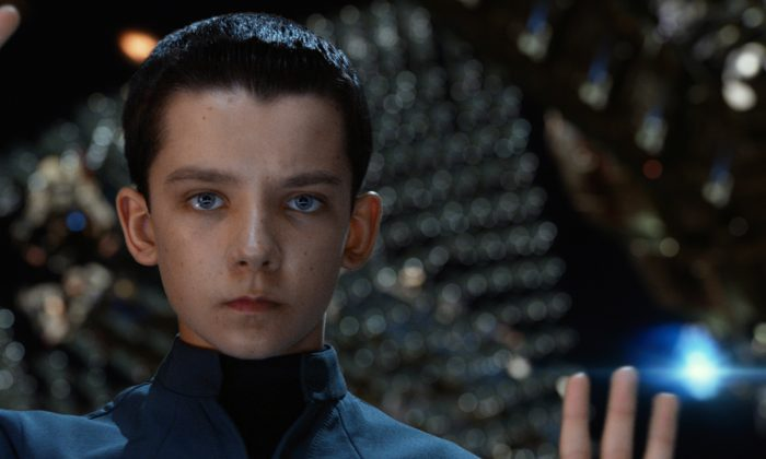 Asa Butterfield as Ender Wiggin in Ender's Game. (Courtesy of Summit Entertainment)