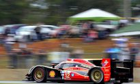 Rebellion Leads ALMS Petit Le Mans as Muscle Milk Pickett Racing Withdraws