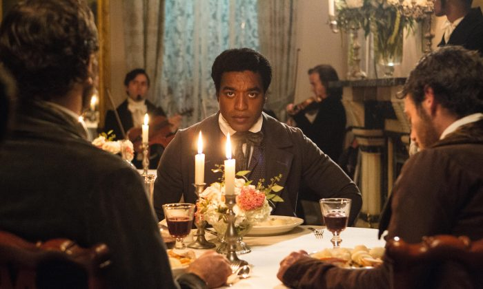 Chiwetel Ejiofor gives a powerful performance in '12 Years A Slave' (Courtesy BFI London Film Festival)