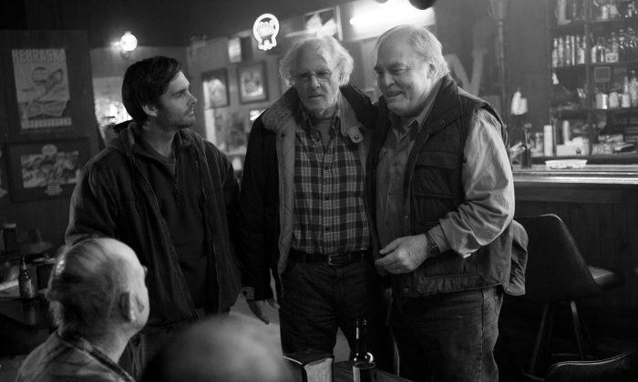 'Nebraska' is directed by Alexander Payne and stars Will Forte and Bruce Dern (Courtesy BFI London Film Festival)
