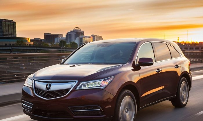 2014 Acura MDX (Courtesy of NetCarShow.com)