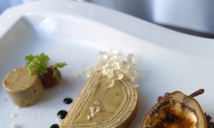 Foie Gras at August. in New Orleans. (Courtesy of August)