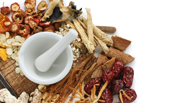 A selection of Chinese herbs. Chinese medicine doctors create individualized remedies based on patients' individual needs. (uckyo/Fotolia)