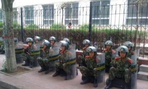 Chinese Forces Strengthen Inner Mongolian Clampdown