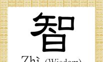 Chinese Character for Wisdom: Zhì (智)