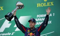 Five in a Row as Sebastian Vettel Wins Formula One Japanese Grand Prix