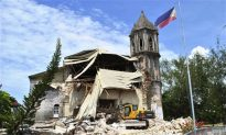 Dauis Church and Loay Church Damaged After Earthquakes Rock Philippines
