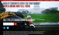 Drunk Dial Congress? A Website Offers That