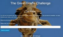 Giraffe Challenge Riddle Answer: Andrew Strugnell to Make More