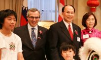 Taiwan's Rep Makes Sharp Contrasts With China
