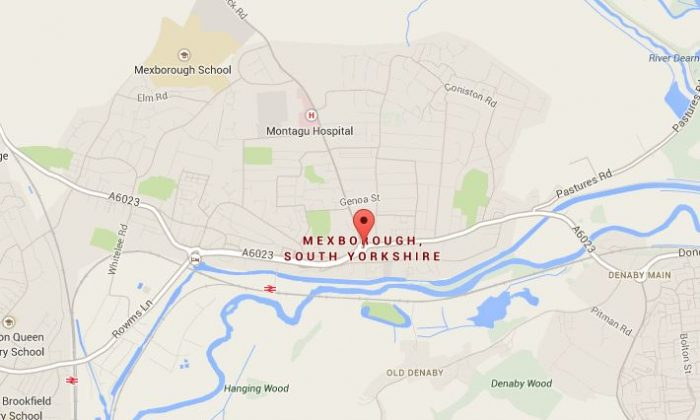 Mexborough, United Kingdom had a fire in the town center on Friday, Oct. 11, 2013. (Google Maps)