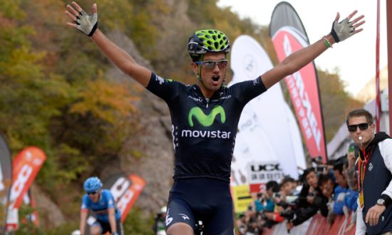 Intxausti Wins Tour of Beijing Stage Four, Takes Red Jersey