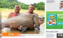 World-record Carp Caught by British Tourist in Thailand
