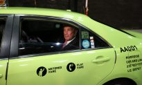 Green Taxis Rolling in Outer Boroughs