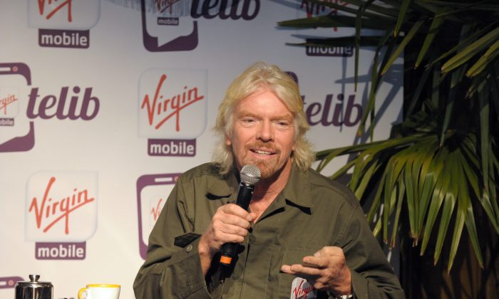 British billionaire Richard Branson is worth about $4.6 billion. (ERIC PIERMONT/AFP/Getty Images)