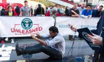 Passerby Breaks a Guinness World Record on Times Square