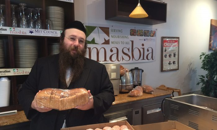 NYC food kitchen Masbia is serving triple as many people as three months ago, largely a result of federal cuts to SNAP.