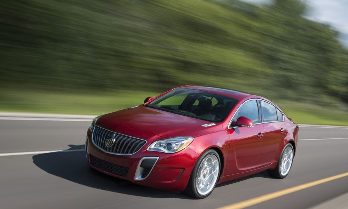 2014 Buick Regal GS (Courtesy of Buick)