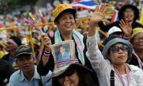 Mass Anti-Government Rally in Thailand Against Thaksin