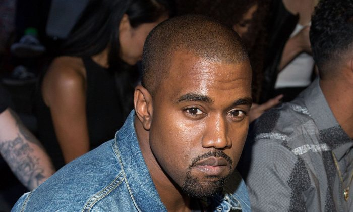 Kanye West, seen in a file photo, has been sued by Ricky Spicer. Dario Cantatore/Invision/AP, File)
