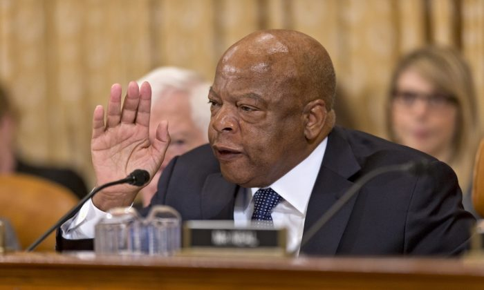 Rep. John Lewis (D-Ga.) in Washington in a Sept. 2019 file photograph. (Mark Wilson/Getty Images)