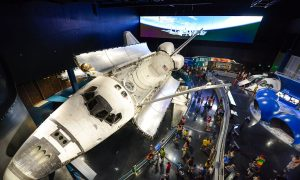 $100-million Space Shuttle Atlantis Exhibit Gives Visitors Real Space Experience, Says Astronaut