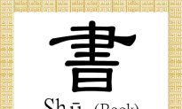 Chinese Character for Book: Shū (書)