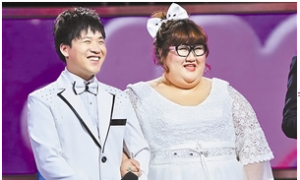 A Large Love Affair: Chinese Man Seeks to Gain 225 Pounds to Match Wife