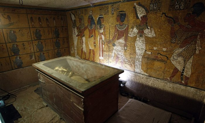 A stock photo of a tomb (Cris Bouroncle/AFP/GettyImages)