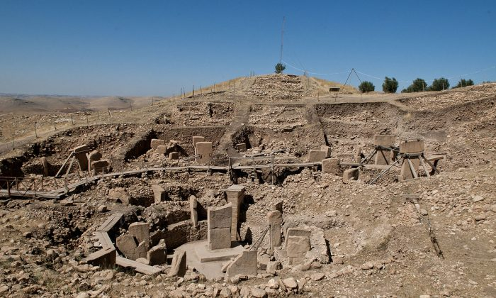 Gobekli Tepe, thought to be the oldest place of worship and a massive series of stone megaliths spanning more than 20 acres and predating Stonehenge by some 6,000 years, making it about 12,000 years old. (Wikimedia Commons)