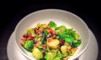 Brussels Sprouts With Bacon, Cider and Herbs Recipe
