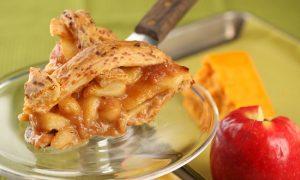 Classic Apple Pie With Cheddar Lattice Crust Recipe