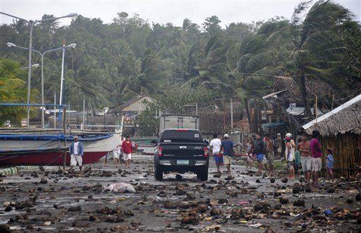 Legazpi City, Albay Province: Typhoon Haiyan Hits Coastal Town
