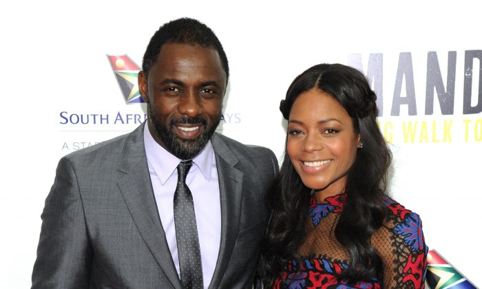 Idris Elba and Naomie Harris attend the New York premiere of Mandela: Long Walk to Freedom at Lincoln Center in New York on Nov. 14, 2013. Elba plays Nelson Mandela and Harris plays Winnie Mandela in the film. (Bryan Bedder/Getty Images for The Weinstein Company)