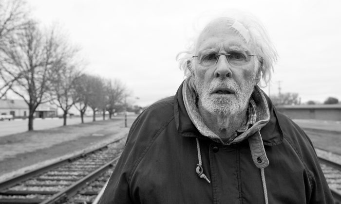 """In the film """"Nebraska,"""" Woody Grant (Bruce Dern) sets out to walk from Montana to Nebraska in order to claim what he believes is a million-dollar prize. (MMXIII Paramount Vantage, A Division of Paramount Pictures Corporation.)"""