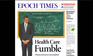 Epoch Times New York Front Page Featured by Newseum—Again