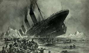 Moon Contributed to Titanic Sinking?—'Once-in-Many-Lifetimes' Coincidence