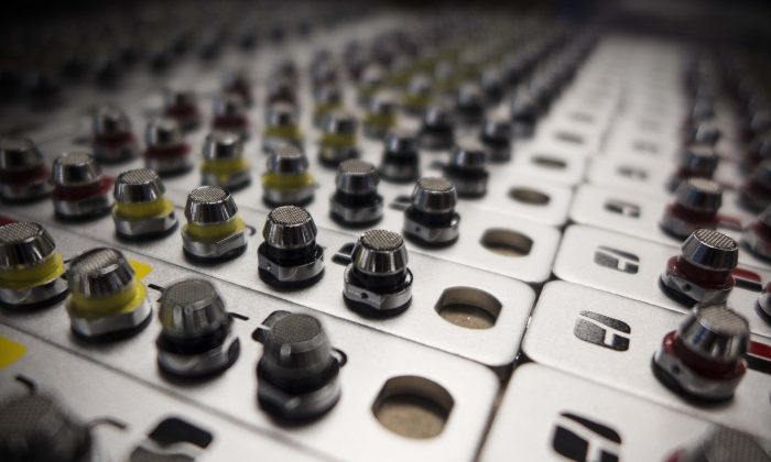 Torque Valves, a new kind of headphone that has built-in EQ adjustment to reduce distortion and improve the listening experience. Each color of earbud is adjusted for a different kind of music. (Courtesy of Torque Audio)