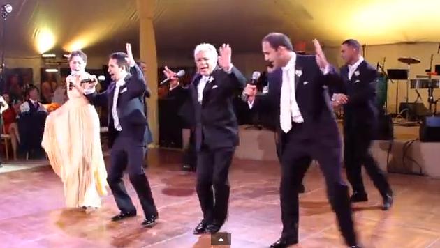 (Screenshot/YouTube/Wedding musical)