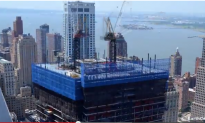 4 World Trade Center Time-Lapse Video, 4 Years in 2 Minutes