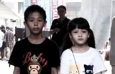 Children in a Thai anti-smoking campaign ad that had millions of views online and was said by some to be the most effective anti-smoking ad ever (watch below). (Screenshot/Ogilvy/YouTube)