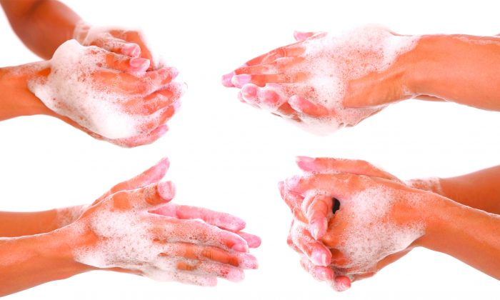 Regularly washing your hands is the most effective way to prevent germs from spreading. (caimacanul/photos.com)