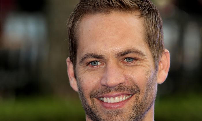 Paul Walker in London on May 7, 2013, is being mourned by his daughter Meadow Walker. (Tim P. Whitby/Getty Images)