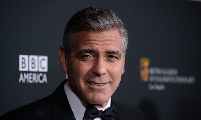 George Clooney in November 2013 in Beverly Hills, California. (Joe Klamar/AFP/Getty Images)