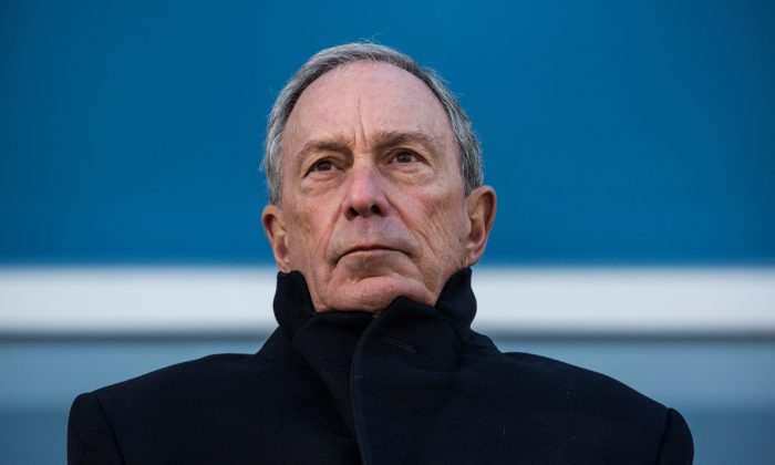 New York City Mayor Michael Bloomberg in a November 13, 2013 file photo. (Andrew Burton/Getty Images)