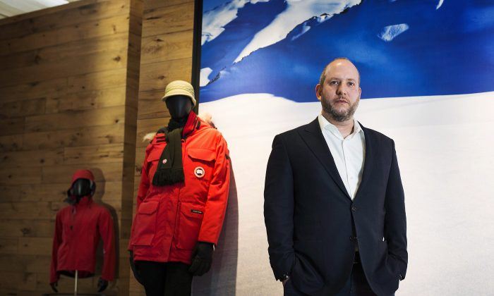 Dani Reiss, president and CEO of Canada Goose Inc., stands for a portrait at his office showroom in Toronto on Nov. 28, 2013. Canada Goose, one of the world's leading makers of extreme weather outerwear, is selling a majority stake in the company to private investment firm Bain Capital. (The Canadian Press/Aaron Vincent Elkaim)