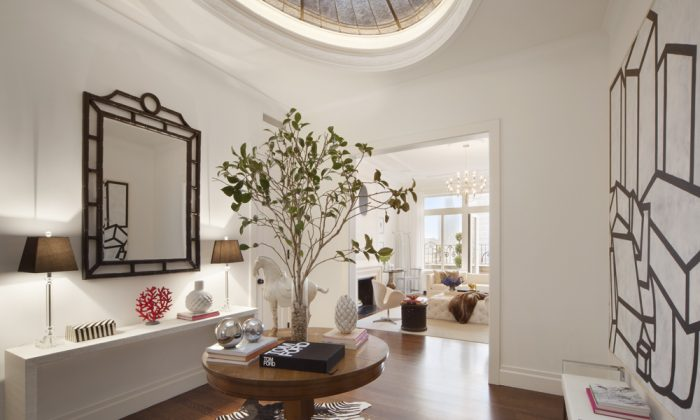 A renovated penthouse co-operative on 419 E. 57th St. (NICO ARELLANO)